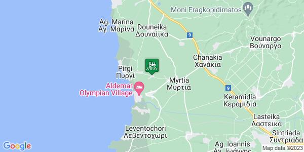Google Map of Αγ. Ηλίας 271 00, Ελλάδα