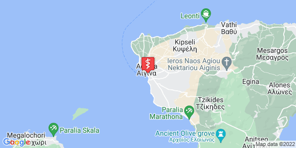 Google Map of Νεοπτόλεμου, Αίγινα 180 10, Ελλάδα