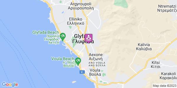 Google Map of Επαμεινώνδα 30, Γλυφάδα 166 74, Ελλάδα
