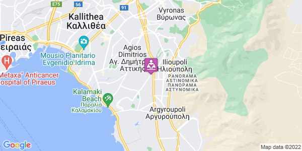 Google Map of Λεωφ. Ιωνίας 24, Άλιμος 174 56, Ελλάδα