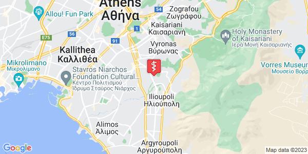 Google Map of Κρυστάλλη 25, Ηλιούπολη 163 45, Ελλάδα