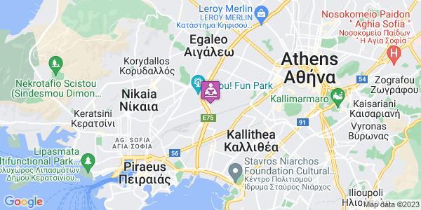 Google Map of Αγ. Ιωάννης Ρέντης 182 33, Ελλάδα