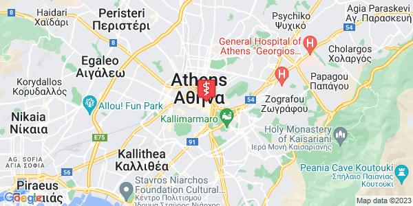 Google Map of Πλ. Καρύτση 5, Αθήνα 105 61, Ελλάδα