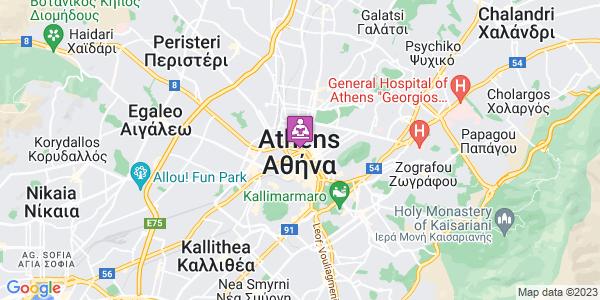Google Map of Πλ. Ομόνοιας 32, Αθήνα 104 31, Ελλάδα