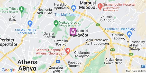 Google Map of Φιλικής Εταιρείας 11, Χαλάνδρι 152 32, Ελλάδα