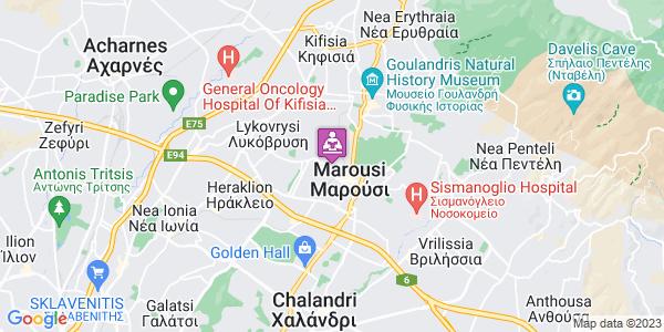 Google Map of Στεφάνου Δραγούμη 9, Μαρούσι 151 22, Ελλάδα