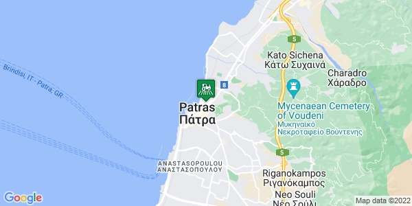 Google Map of Ρήγα Φεραίου 37, Πάτρα 262 23, Ελλάδα