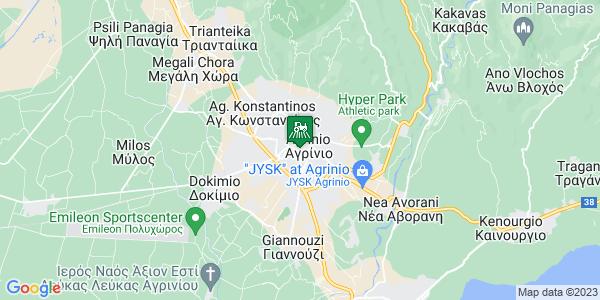 Google Map of Μπαϊμπά 2, Αγρίνιο 301 31, Ελλάδα