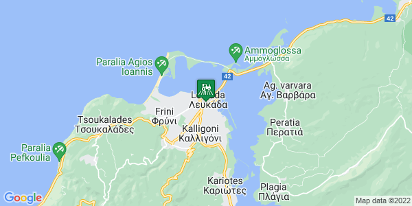 Google Map of Ιωάννου Μελά 141, Λευκάδα 311 00, Ελλάδα