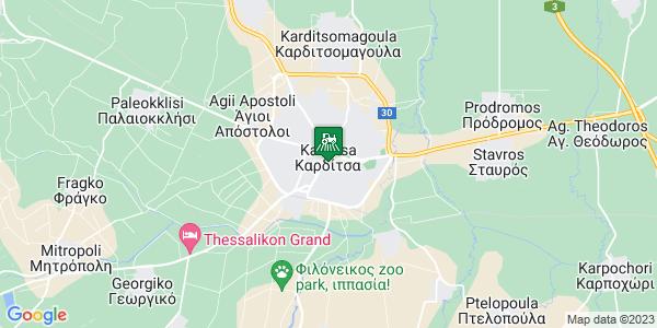 Google Map of Αβέρωφ 20, Καρδίτσα 431 00, Ελλάδα