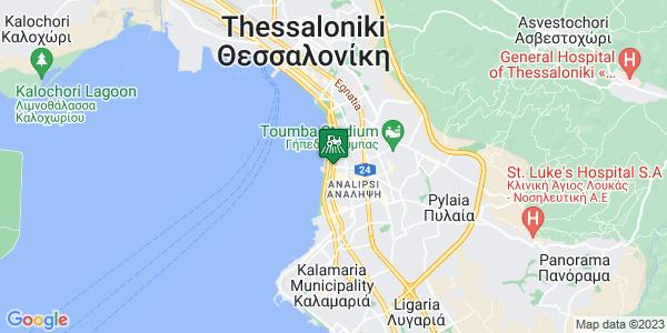 Google Map of Λεωφ. Βασιλίσσης Όλγας 62, Θεσσαλονίκη 546 42, Ελλάδα