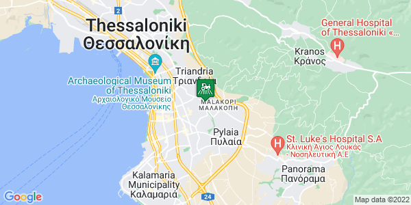 Google Map of Επιδαύρου 7, Θεσσαλονίκη 543 52, Ελλάδα