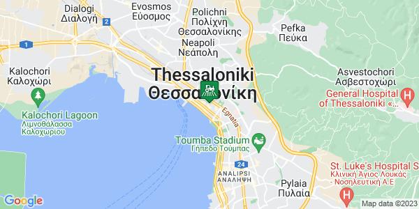 Google Map of Αλ. Σβώλου 6, Θεσσαλονίκη 546 22, Ελλάδα