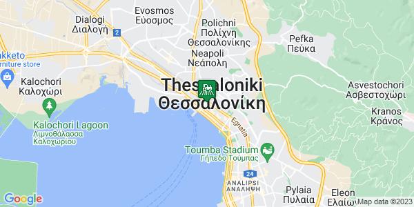 Google Map of Βλάλη 1, Θεσσαλονίκη 546 24, Ελλάδα