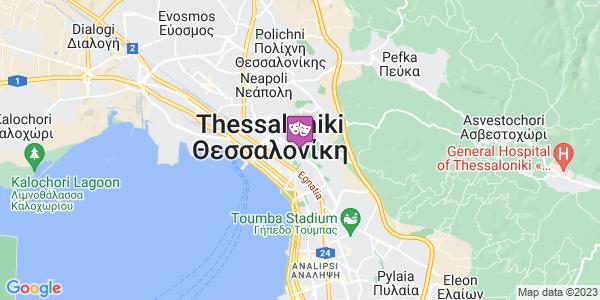 Google Map of Ολυμπιάδος 133, Θεσσαλονίκη 546 34, Ελλάδα