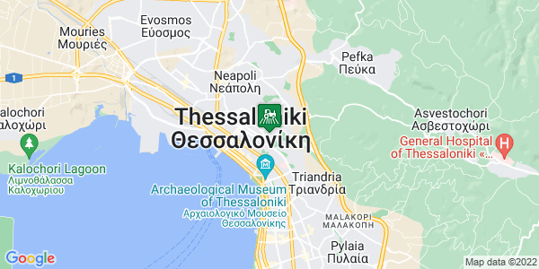 Google Map of Κόδρου 3, Θεσσαλονίκη 546 34, Ελλάδα