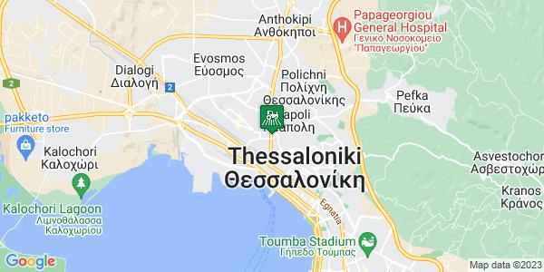 Google Map of Λαγκαδά 86, Νεάπολη 567 27, Ελλάδα