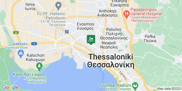 Google Map of Ελ. Βενιζέλου 76, Αμπελόκηποι 561 21, Ελλάδα