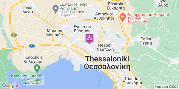 Google Map of Μεγ. Αλεξάνδρου, Αμπελόκηποι-Μενεμένη, Ελλάδα