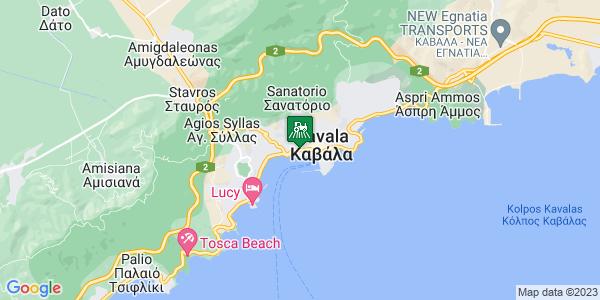 Google Map of Ερυθρού Σταύρου 34, Καβάλα 654 03, Ελλάδα