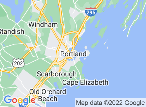 Location map for Fore River Sanctuary