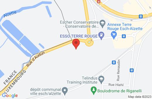 1, avenue des Terres Rouges L-4330 Esch-sur-Alzette Luxembourg