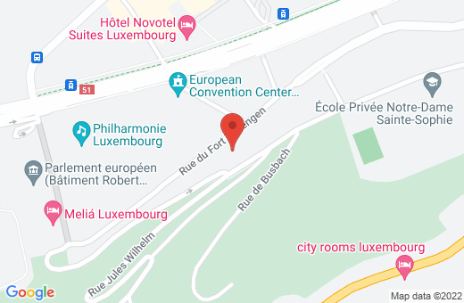 1, rue du Fort Thüngen L-1499 Luxembourg Luxembourg
