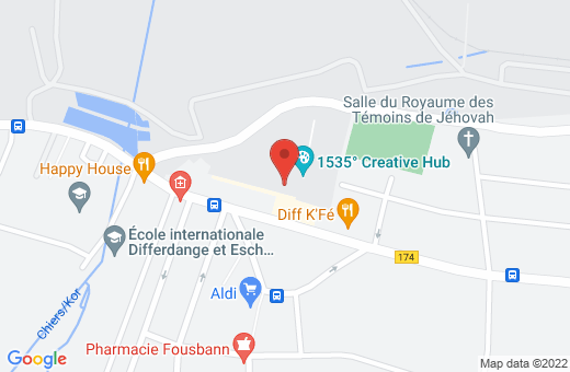 115, rue Emile Mark L-4620 Differdange Luxembourg