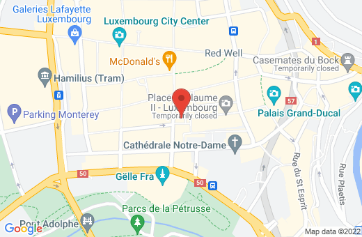 30, place Guillaume II L-1648 Luxembourg Luxembourg