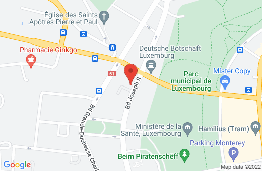 35a boulevard Joseph II L-1840 Luxembourg Luxembourg