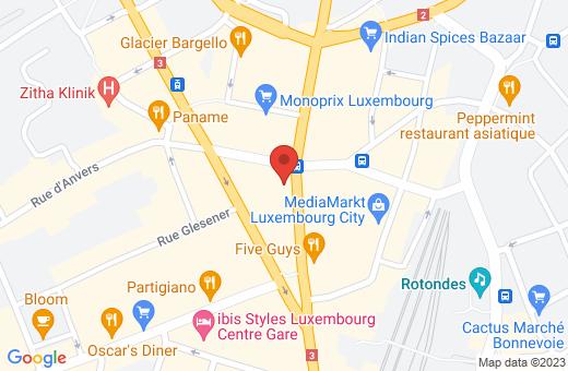 36, avenue de la Gare L-1610 Luxembourg Luxembourg