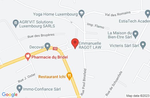 42A, rue Paul Binsfeld L-8119 Bridel Luxembourg