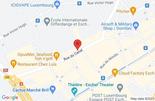 44, rue du Canal L-4050 Esch-sur-Alzette Luxembourg
