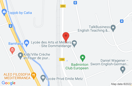 45, rue Nicolas Hein L-1721 Luxembourg Luxembourg