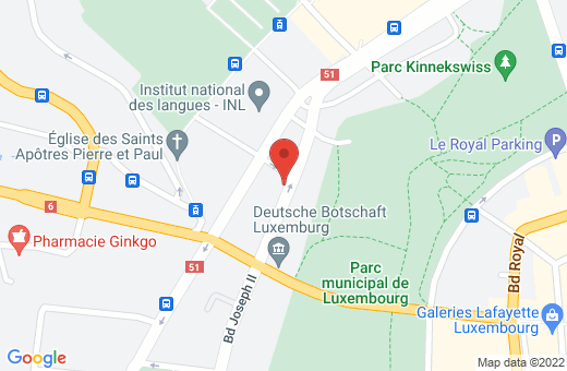 47, boulevard Joseph II L-1840 Luxembourg Luxembourg