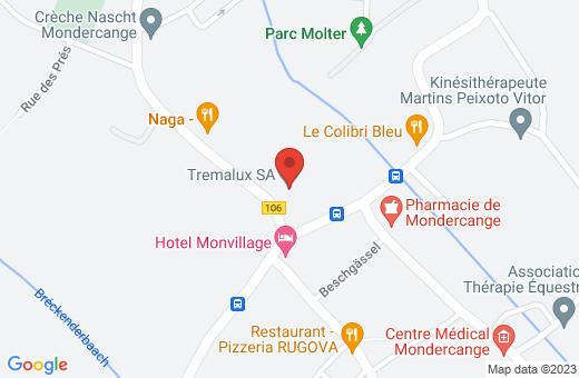 5, rue de Limpach L-3932 Mondercange Luxembourg