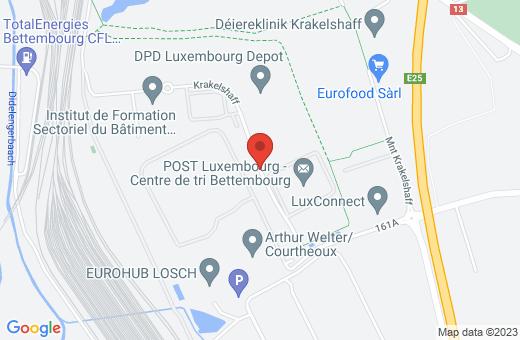 5, zone d'activités économiques Krakelshaff L-3290 Bettembourg Luxembourg