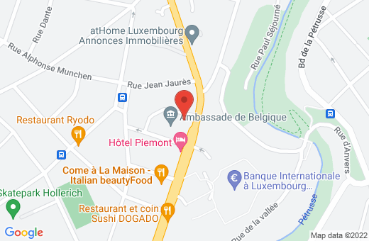 50, route d'Esch L-1470 Luxembourg Luxembourg