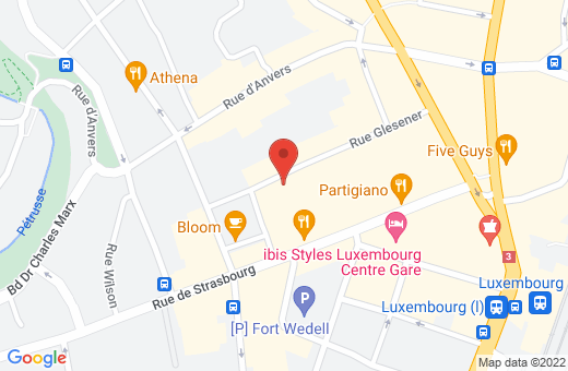 53A rue Glesener L-1631 Luxembourg Luxembourg