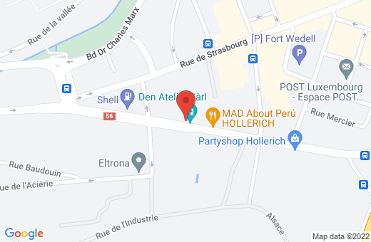 56-62, rue de Hollerich L-1740 Luxembourg Luxembourg