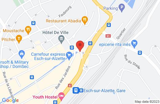 place de l'Hôtel de Ville L-4138 Esch-sur-Alzette Luxembourg