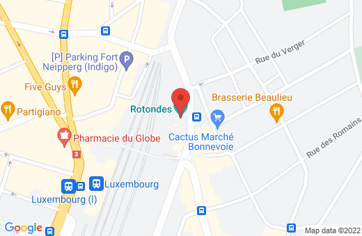 place des Rotondes L-2448 Luxembourg Luxembourg