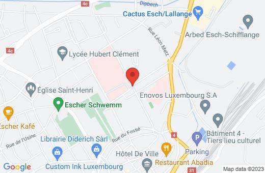 rue Emile Mayrisch L-4240 Esch-sur-Alzette Luxembourg