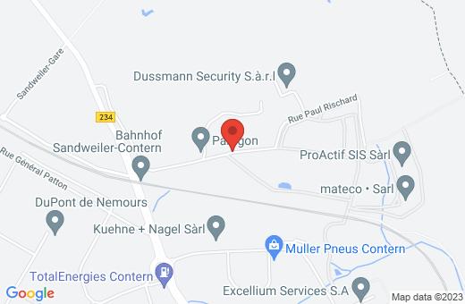 rue des Chaux L-5324 Contern Luxembourg