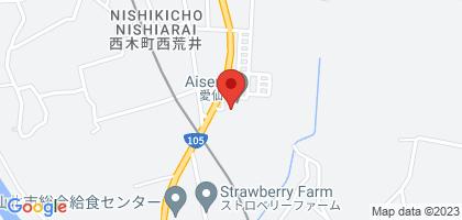 愛仙の地図
