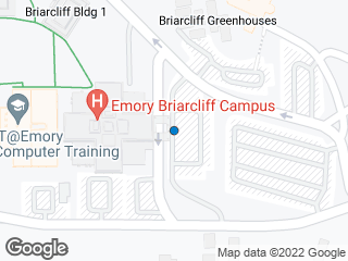Map showing location of Briarcliff Campus - Bldg A
