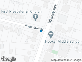 Map showing location of Whitney/Huntington