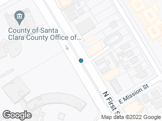 Map showing location of Civic Center (To: Mountain View/Alum Rock)
