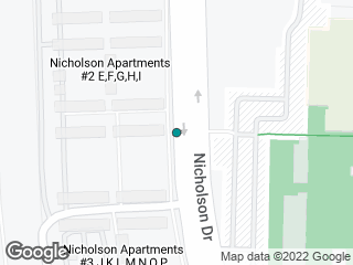 Map showing location of Nicholson Apts II