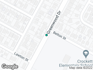 Map showing location of Greenwood @ Belton
